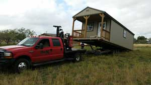 BigN Services. Portable building movers of Texas!